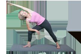 sideangle pose  mindfulness  yoga