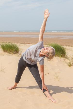 triangle  mindfulness  yoga